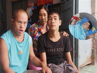 Chồng tai biến nằm một chỗ để lại vợ cùng 2 đứa con trai tâm thần, Tết đến mà nhà không còn gạo nấu cơm