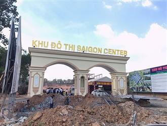 """Chưa xong mặt bằng, Saigon Land đã """"liều"""" mở bán dự án Sài Gòn Center"""