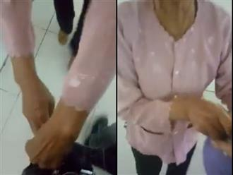 Clip bà cố dúi tiền vào túi cháu khiến nhiều người xúc động: 'Gần hết cuộc đời bà vẫn chẳng màng đến bản thân'