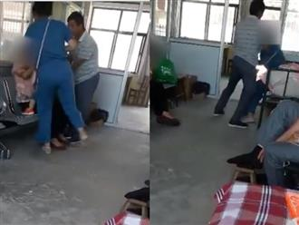 Clip con dâu tát mẹ chồng tới tấp trong bệnh viện vì mâu thuẫn nhỏ khiến dân tình phẫn nộ