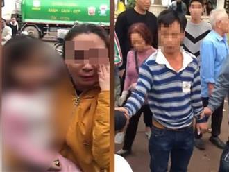 Clip dân đòi 'xử' người đàn ông vì nghi bắt cóc trẻ em ở Hà Nội gây xôn xao