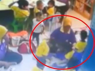Clip học sinh mầm non bị giáo viên tát, đánh đập dã man khiến nhiều phụ huynh 'sôi máu'