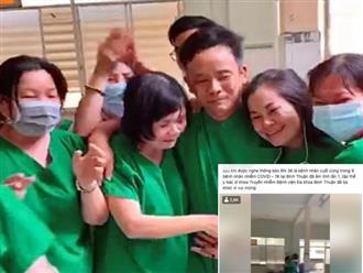Clip khiến triệu trái tim xúc động: Y bác sĩ ở Bình Thuận ôm nhau khóc khi bệnh nhân nhiễm Covid-19 cuối cùng xét nghiệm âm tính