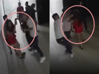 Clip nhóm thanh niên cao to đến tận nhà lao vào nắm tóc, đánh đập cô gái dã man giữa khuya gây bức xúc
