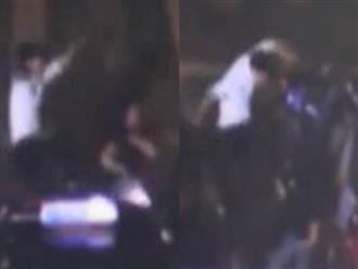 Clip 'soái ca sơ mi trắng' đánh bạn gái tới tấp giữa đường khiến dân mạng phẫn nộ