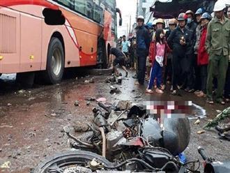 Clip xe khách lao vào chợ khiến 4 người tử vong và lời khai của tài xế gây tai nạn