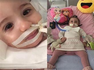 Bác sĩ đòi rút ống thở, mẹ nói không và cô bé đẹp thiên thần này đã hồi sinh