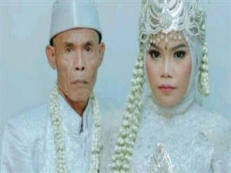 Cô gái 18 tuổi lấy cụ ông 71, nhìn sính lễ chú rể tặng cô dâu mà choáng