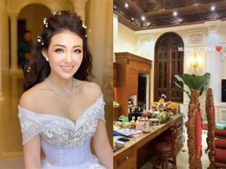 'Cô dâu 200 cây vàng' ở Nam Định khoe lâu đài xa hoa, được trang trí như cung điện vào dịp Tết