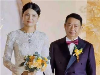Cô dâu 38 tuổi xinh như hoa hậu lấy chồng 63 tuổi, biết danh tính, tổng tài sản của chú rể ai cũng choáng nặng