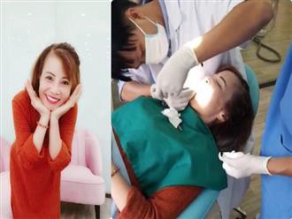 Cô dâu 62 tuổi chi 216 triệu tân trang lại hàm răng sau khi phẫu thuật căng da mặt