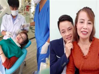 Cô dâu 62 tuổi tiếp tục chi hơn 200 triệu để làm răng sau khi căng da mặt cho xứng đôi với chồng trẻ