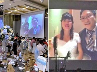 Phải cách ly sau khi trở về từ vùng dịch corona, cô dâu chú rể tổ chức đám cưới theo cách 'có 1-0-2'