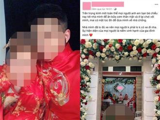 Cô dâu 'giận tím người' vì mời cưới trên Facebook nhưng chỉ có 3 người đến dự, số còn lại chẳng đến cũng không gửi tiền mừng