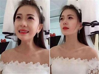 Cô dâu xinh đẹp khóc hết nước mắt khi phát hiện chú rể quấn lấy phù dâu ngay trước giờ đám cưới