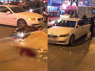 Hà Nội: Va chạm mạnh với xe BMW ngã xuống đường, cô gái bị xe buýt cán tử vong