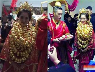 Cô gái 'cưới nhầm' đại gia, đeo vàng đầy cổ khiến nhiều chị em đỏ mắt ghen tỵ