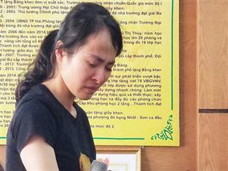 Cô giáo đánh học sinh ở Hải Phòng: 'Hãy cho tôi cơ hội sửa sai'