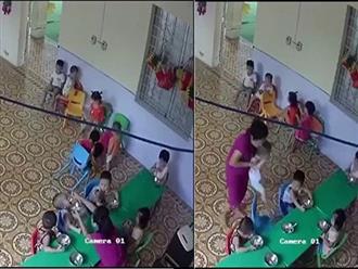 Đã xác định cô giáo mầm non nhồi nhét thức ăn, đánh bé trai hơn 2 tuổi ở Hà Nội
