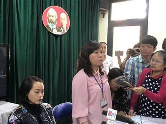 """Hà Nội: Cô giáo phủ nhận cho học sinh lớp 2 tát nhau 50 cái, chỉ nói bâng quơ """"mất trật tự thì tát cho bạn một cái"""""""