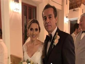 Con trai ruột qua đời 3 năm, cựu thị trưởng Mexico cưới luôn con dâu