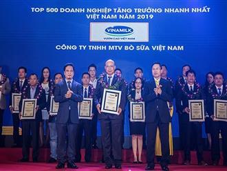 Công ty bò sữa Việt Nam thuộc Vinamilk vào Top tăng trưởng nhanh nhất Việt Nam