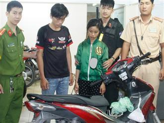CSGT truy đuổi, bắt giữ đôi nam nữ cướp giật trong đêm Việt Nam đá trận bán kết ASIAD 2018