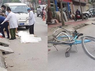 Thương tâm: Trên đường đến bệnh viện, cụ bà chạy xe đạp bị ô tô tông tử vong