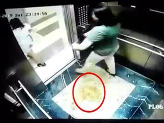 Cư dân mạng sôi sục, đòi công bố danh tính 2 nữ khách tè bậy giữa thang máy