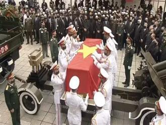Cử hành trọng thể lễ truy điệu và an táng nguyên Tổng Bí thư Lê Khả Phiêu