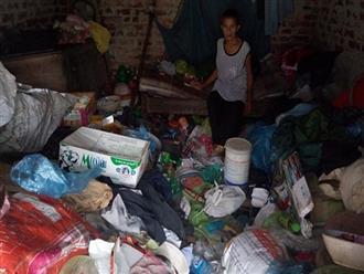 Cụ ông 83 tuổi, tâm thần phân liệt sống cô quạnh trong căn nhà ngập rác
