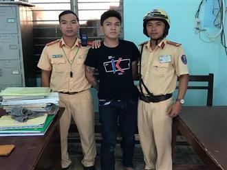 CSGT truy bắt đối tượng cướp tài sản trên đường phố Sài Gòn