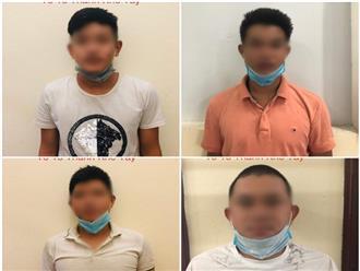 Đà Nẵng: Tổ chức ăn nhậu giữa mùa dịch Covid-19, 4 thanh niên bị phạt 42,5 triệu
