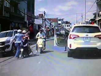Đã rõ danh tính người đàn ông đi ôtô tát phụ nữ chở con nhỏ