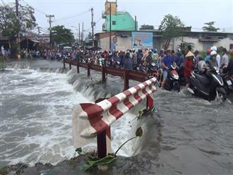 Đã tìm thấy thi thể nam sinh viên bị nước cuốn mất tích trong cơn bão số 9 ở Sài Gòn
