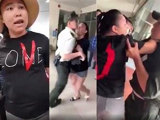 NÓNG: Đại úy CA Lê Thị Hiền lăng mạ nhân viên hàng không bị cấm bay