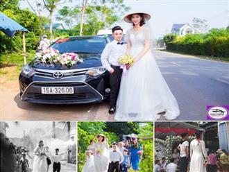 Đám cưới gây xôn xao của cô dâu 1m94, chú rể 1m4: Hé lộ gia cảnh của chú rể Hải Phòng