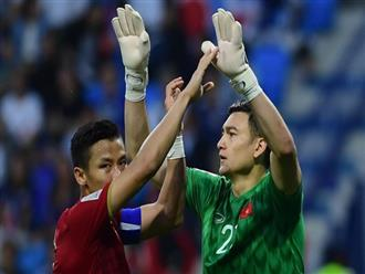 """Đặng Văn Lâm: """"Chúng tôi đã cố gắng hết mình vì màu cờ sắc áo"""""""