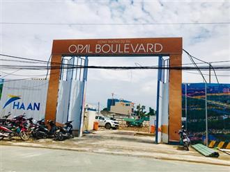 """Đất Xanh và màn """"qua mặt"""" chính quyền tại dự án Opal Boulevard"""