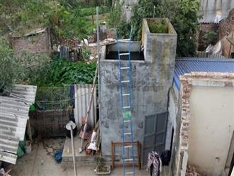 Người đàn ông đổ thuốc trừ sâu vào bể nước nhà hàng xóm