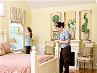 Dọn dẹp phòng ngủ tinh tươm đón năm mới trong nháy mắt