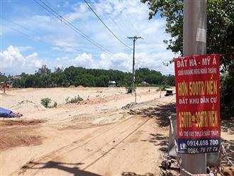 Quảng Ngãi: Chỉ mới có 16 dự án bất động sản đủ điều kiện bán
