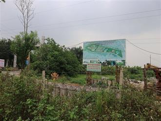 """Dự án KĐT Hà Nội Westgate bỏ hoang hơn 10 năm, kho xưởng """"mọc"""" tràn lan"""