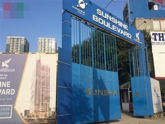 """Dự án Sunshine Boulevard Thanh Xuân """"thâu tóm"""" đất ở của 16 hộ dân"""