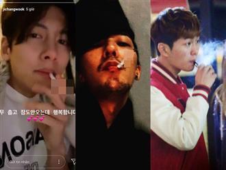 Những lần sao Hàn bị bắt gặp hút thuốc: Fan vỡ mộng vì hình tượng soái ca sụp đổ