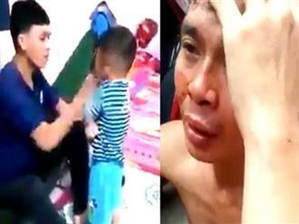 Gã trai hé lộ điều bất ngờ khi bị dân xã hội đánh tóe máu vì tát và dọa giết con nhỏ