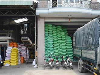 Gạo nhập lậu từ Campuchia ồ ạt tràn qua biên giới
