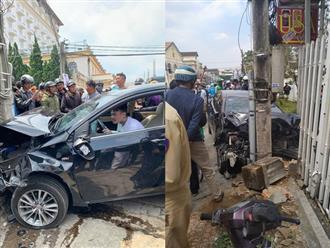Gây tai nạn liên hoàn khiến nhiều người bị thương, nam thanh niên vẫn ngồi trong xe lắc lư theo nhạc
