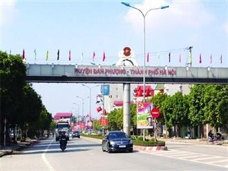 Giá đất huyện Đan Phượng và huyện ven Hà Nội đã tăng thế nào?