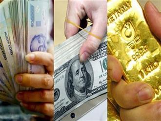 Giá vàng hôm nay 1/5: USD tăng vọt, vàng tụt giảm